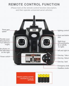 HIINST RC helicopter brushed motor 2.4G HD Camera uadcopter