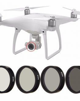 WOLFGANG 4pc ND2 ND4 ND8 ND16 Filter for DJI Phantom 3 4 Professional Advanced Camera
