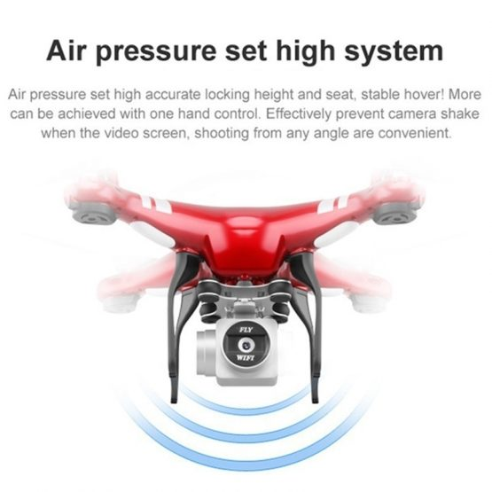 OCDAY SH5H 2.4G 4CH Smart Drone RC Quadcopter with Altitude Hold Headless Mode